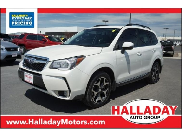 Used 2015 Subaru Forester 2.0XT Touring SUV for sale in Cheyenne, WY at Halladay Subaru