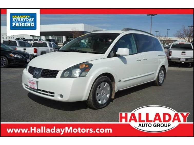 Used 2006 Nissan Quest S Special Edition Van for sale in Cheyenne, WY at Halladay Subaru