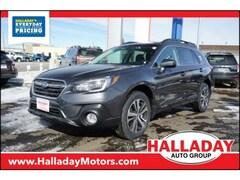 New 2019 Subaru Outback 2.5i Limited SUV 4S4BSANCXK3298484 in Cheyenne, WY at Halladay Subaru