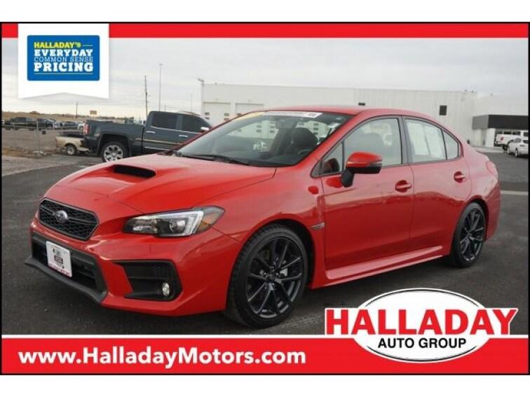 Used 2018 Subaru WRX Limited Sedan for sale in Cheyenne, WY at Halladay Subaru