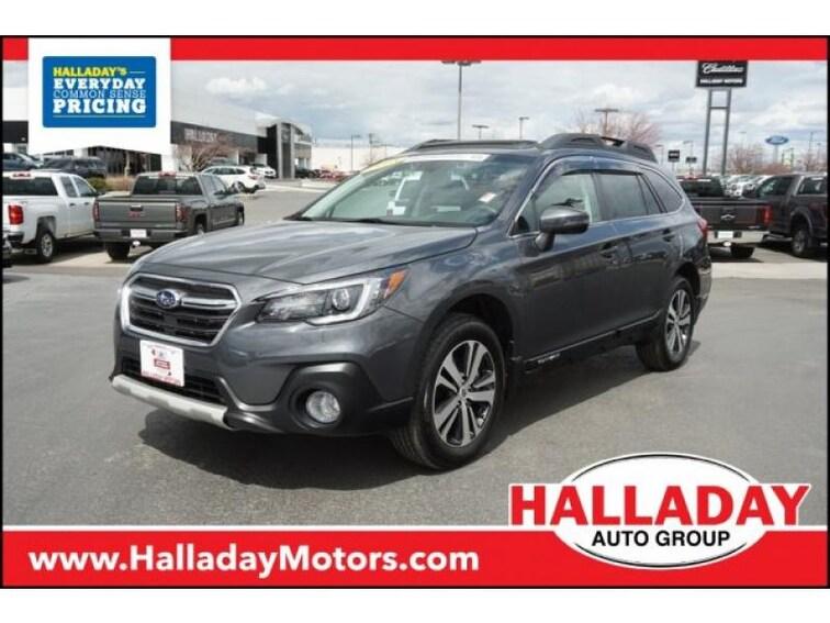 Used 2018 Subaru Outback Limited SUV for sale in Cheyenne, WY at Halladay Subaru