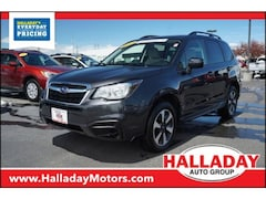 Used 2017 Subaru Forester Premium JF2SJAEC4HH423385 in Cheyenne, WY at Halladay Subaru
