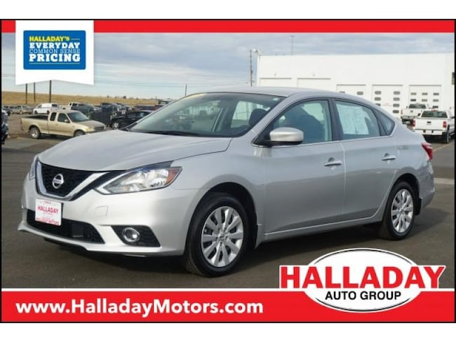 Certified Pre-owned 2018 Nissan Sentra S Sedan in Cheyenne, WY