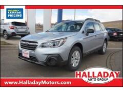 New 2019 Subaru Outback 2.5i SUV 4S4BSABC5K3252243 in Cheyenne, WY at Halladay Subaru
