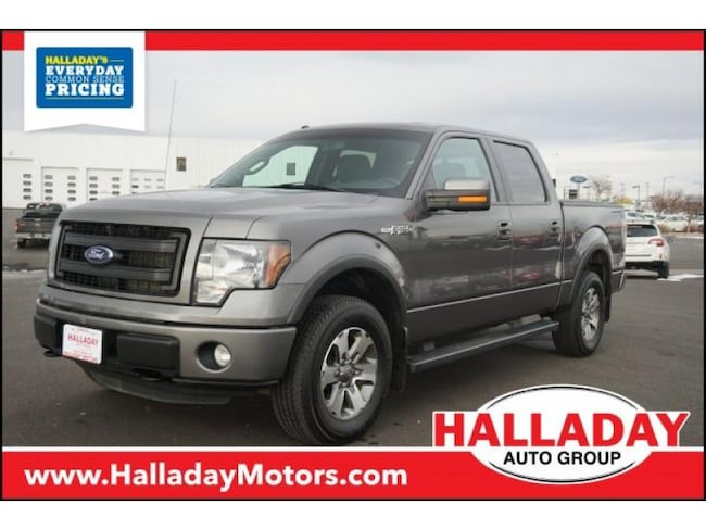 Used 2014 Ford F-150 FX4 Truck SuperCrew Cab in Cheyenne, WY