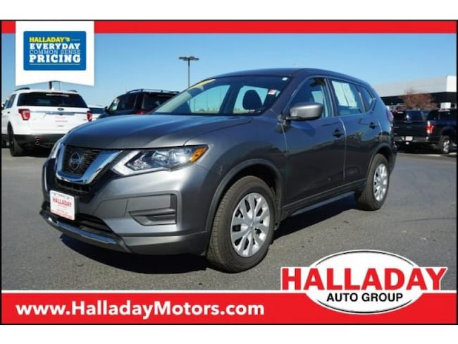 Certified Pre-owned 2018 Nissan Rogue S SUV in Cheyenne, WY