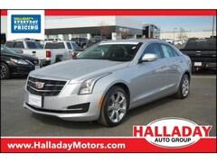 Used 2016 CADILLAC ATS Luxury Collection AWD 1G6AH5RSXG0146868 in Cheyenne, WY at Halladay Subaru