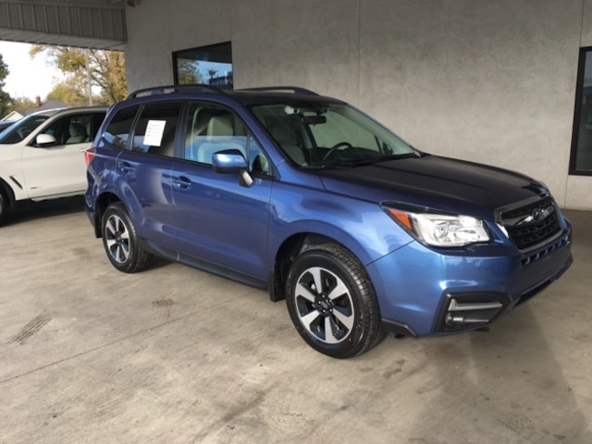 New 2018 Subaru Forester 2.5i Premium w/ Eyesight + All Weather Package + Power Rear Gate + Starlink SUV Chico