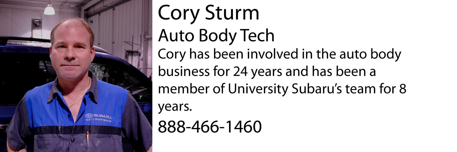 Subaru Body Shop in Columbia, MO