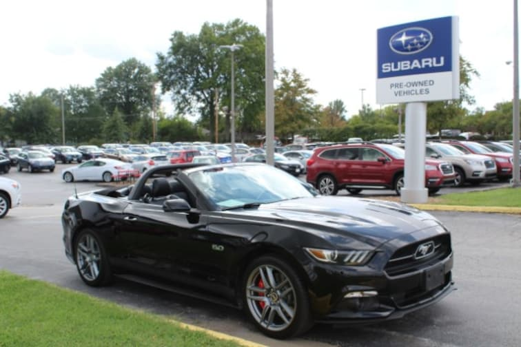 Used 2015 Ford Mustang GT Premium Convertible in Columbia, MO