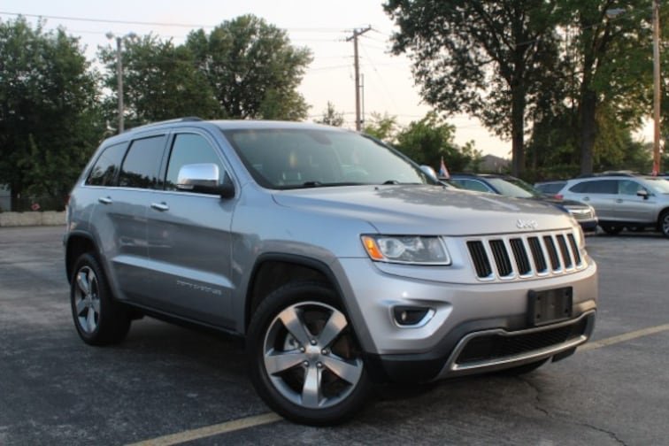 Used 2014 Jeep Grand Cherokee Limited 4x4 SUV in Columbia, MO