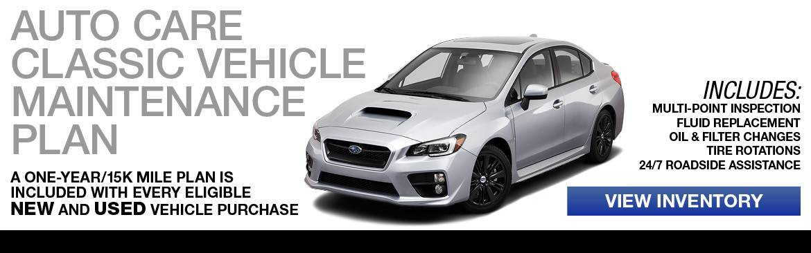 Subaru Car Maintenance Plan in Corvallis, OR
