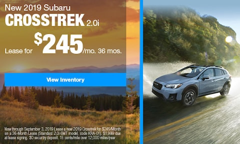 2019 Subaru Crosstrek Lease - August