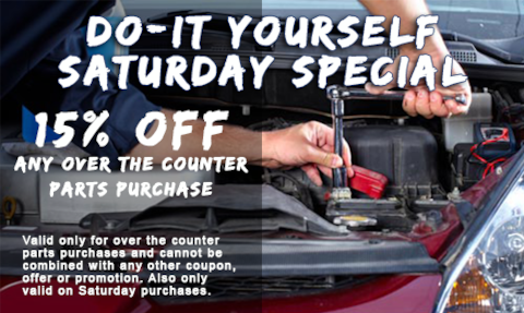 Do- It Yourself Saturday Special