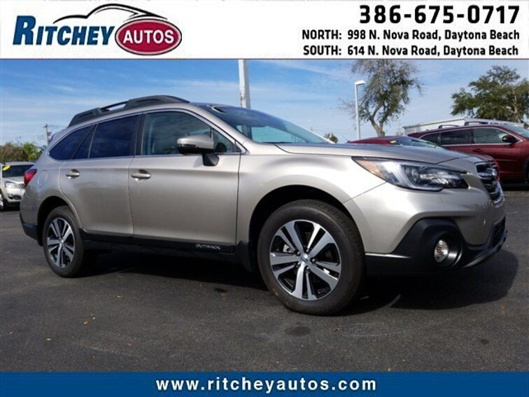2019 Subaru Outback Limited 3.6R Limited 4S4BSENC8K3212323 for sale in Daytona Beach, FL