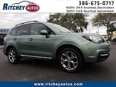 Certified Pre-Owned 2017 Subaru Forester Touring 2.5i Touring CVT JF2SJAWC2HH437980 for sale in Daytona Beach, FL