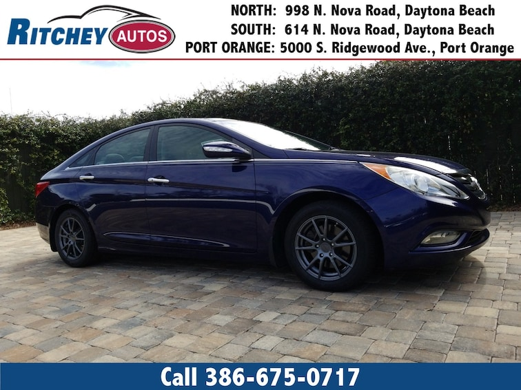 Used 2013 Hyundai Sonata Sedan For Sale In Daytona Beach Fl Near