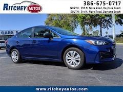 Used 2017 Subaru Impreza 2.0i 2.0i  CVT 201386L in Daytona Beach, FL