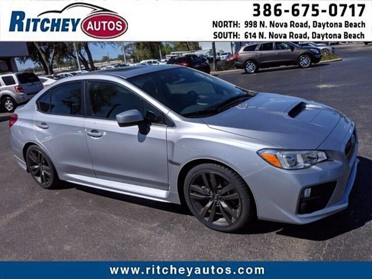 2017 Subaru WRX Premium Premium Manual JF1VA1E64H9809777 for sale in Daytona Beach, FL