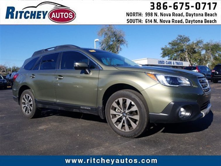 2017 Subaru Outback Limited 2.5i Limited 4S4BSAKC2H3200867 for sale in Daytona Beach, FL