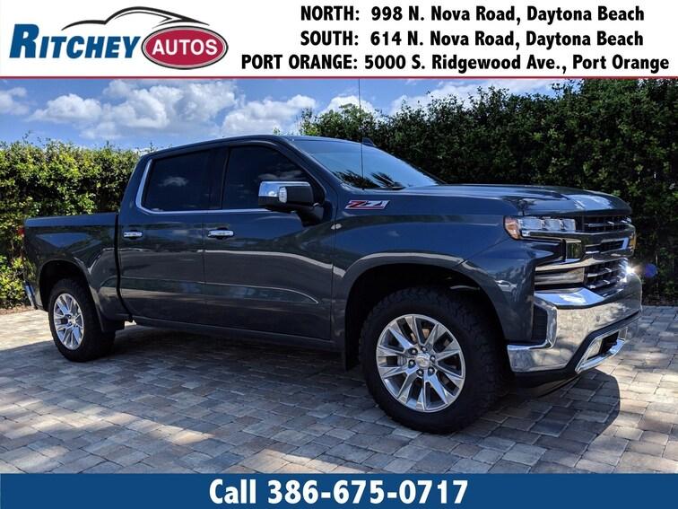 Used 2019 Chevrolet Silverado 1500 LTZ 4WD Crew Cab 147 LTZ in Daytona Beach, FL