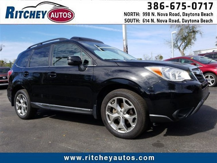 2015 Subaru Forester 2.5i Touring CVT 2.5i Touring PZEV JF2SJAUC8FH476363 for sale in Daytona Beach, FL