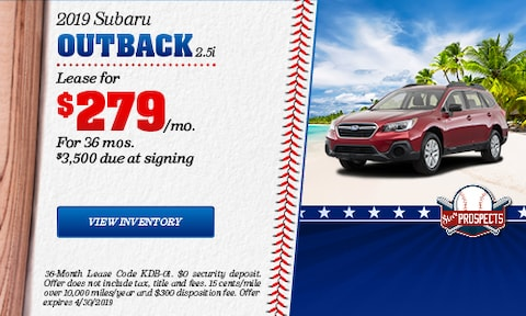 April 2019 Outback Lease Offer