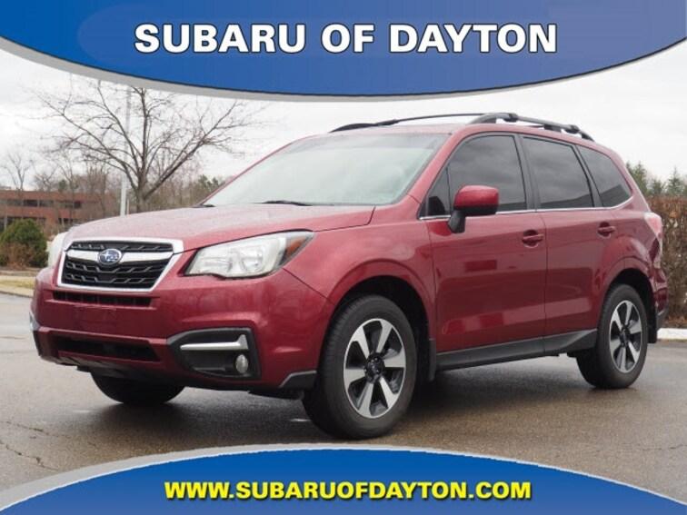 Used 2017 Subaru Forester 2.5i Limited SUV Dayton, OH