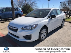 New 2019 Subaru Impreza 2.0i Sedan Z18509 for sale in Georgetown, TX