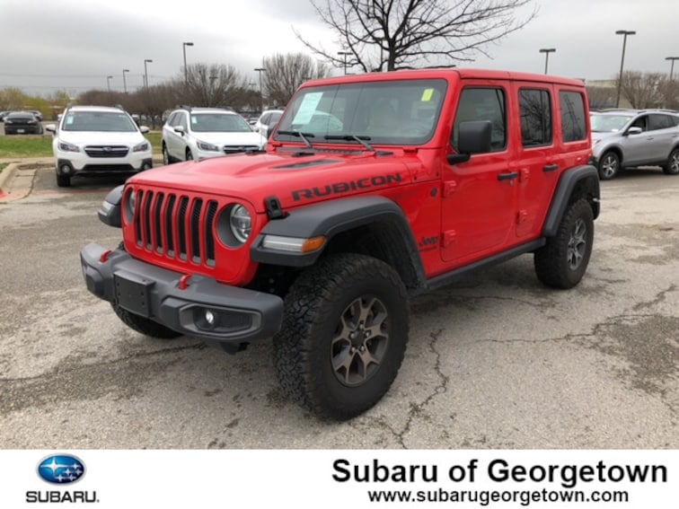 New 2018 Jeep Wrangler Unlimited Rubicon 4x4 SUV in Georgetown, TX