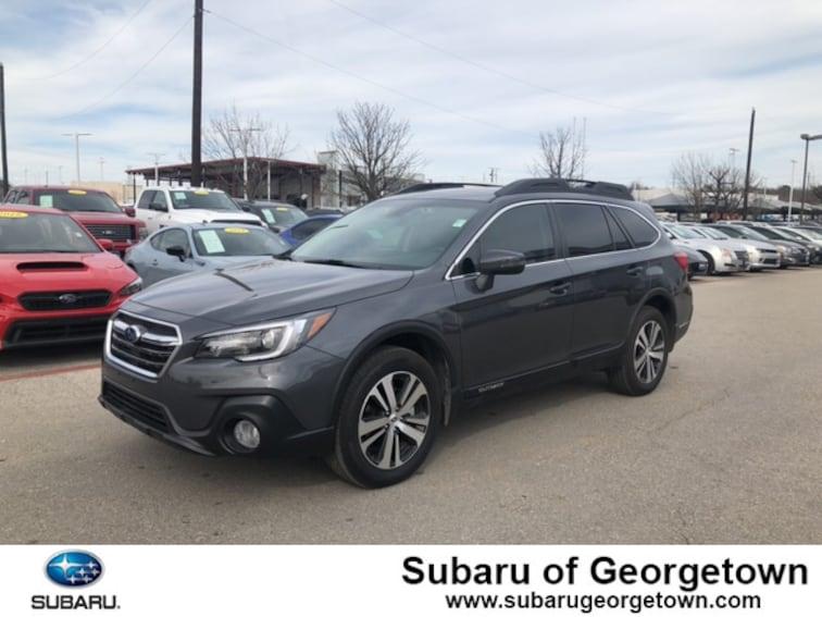Certified Used 2019 Subaru Outback 3.6R Limited SUV near Austin