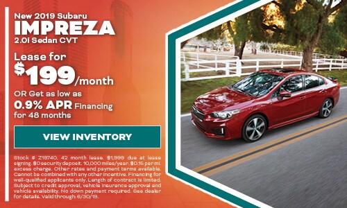 2019 Subaru Impreza - June