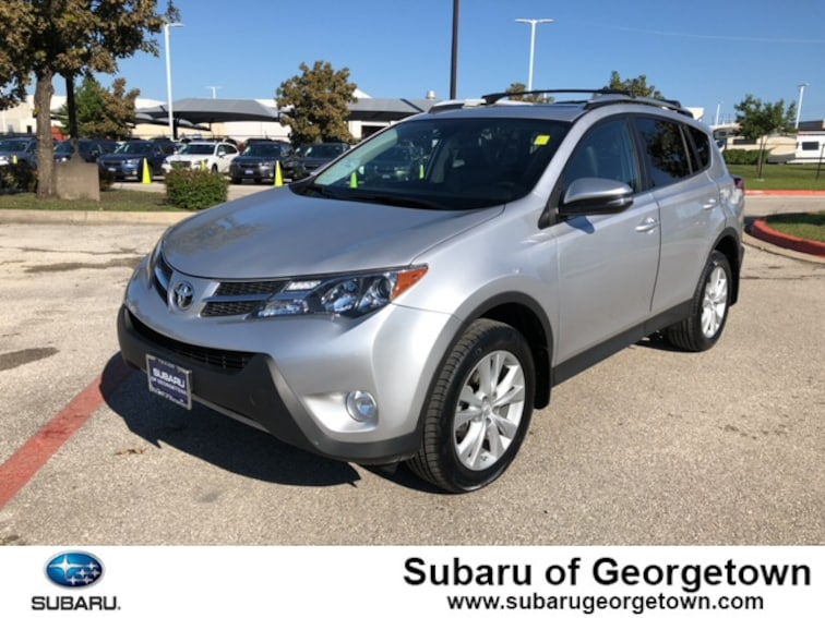 New 2015 Toyota RAV4 Limited SUV in Georgetown, TX