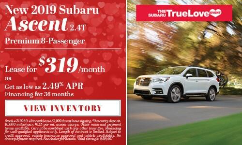 New 2019 Subaru Ascent 2.4T Premium 8-Passenger