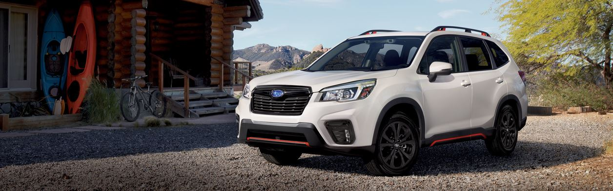 The new 2019 Subaru Forester