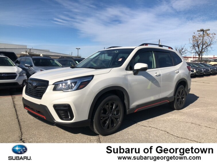 Certified Used 2019 Subaru Forester Sport SUV near Austin