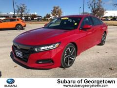 Used 2018 Honda Accord Sport Sedan for sale in Georgetown near Austin, TX