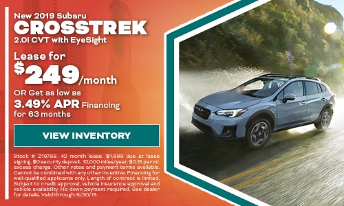 2019 Subaru Crosstrek - June