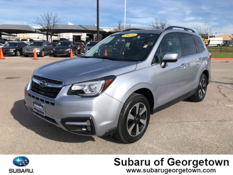 New 2018 Subaru Forester 2.5i Limited SUV in Georgetown, TX