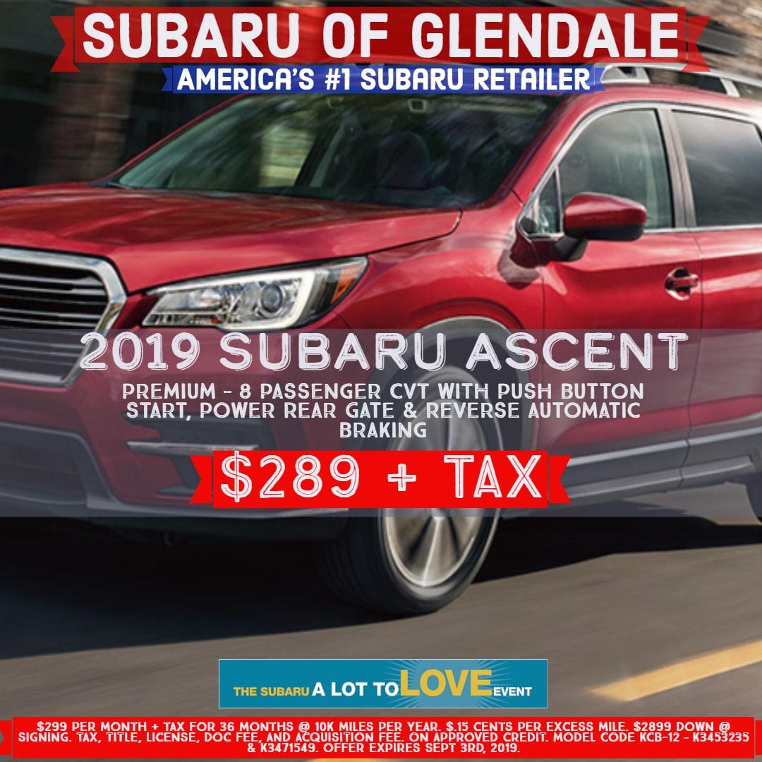 Americas Tire Glendale >> New Subaru Car Lease Specials In Glendale Ca