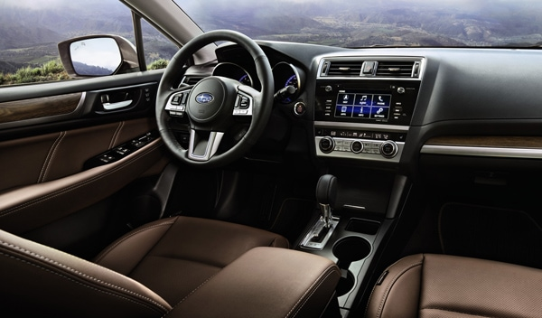 The New 2017 Outback Touring Will Come Standard With Subaru S Eyesight This Top Of Line Crossover Be Available 2 5 Liter Flat Four