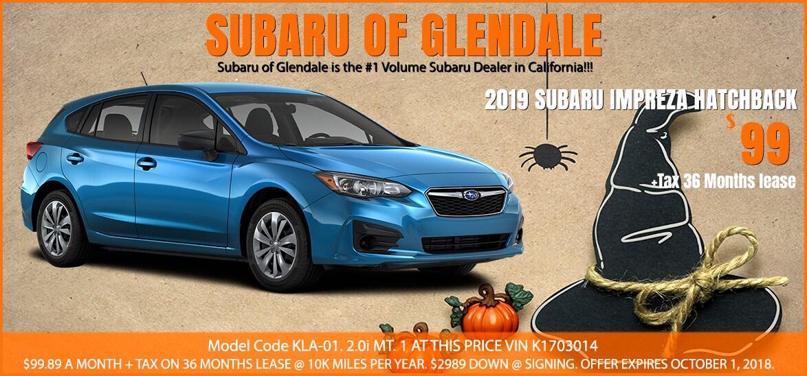 New Car Specials In Glendale CA - Subaru car show california