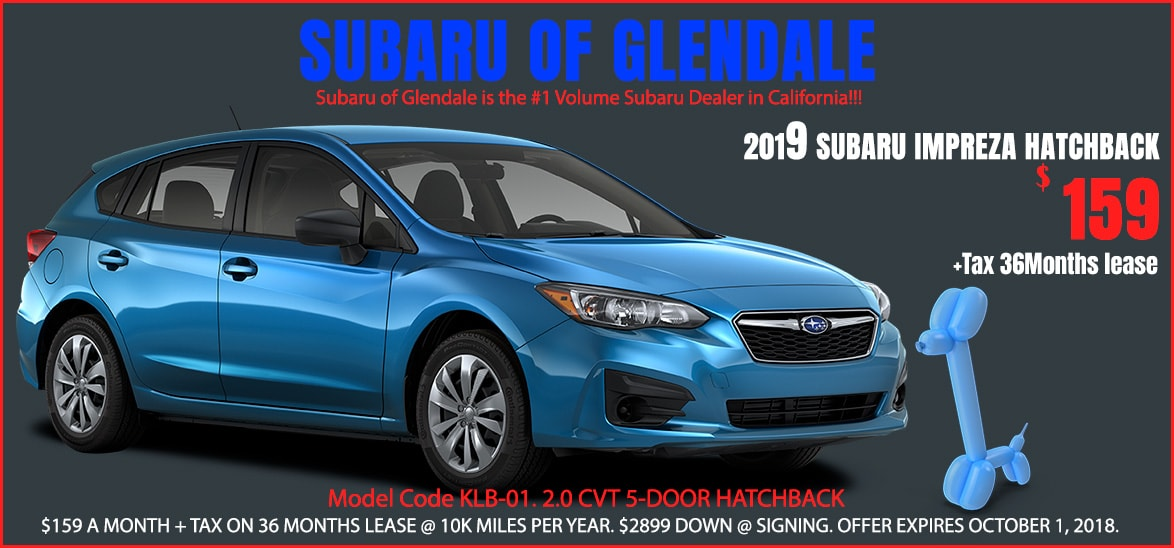 Subaru special offers