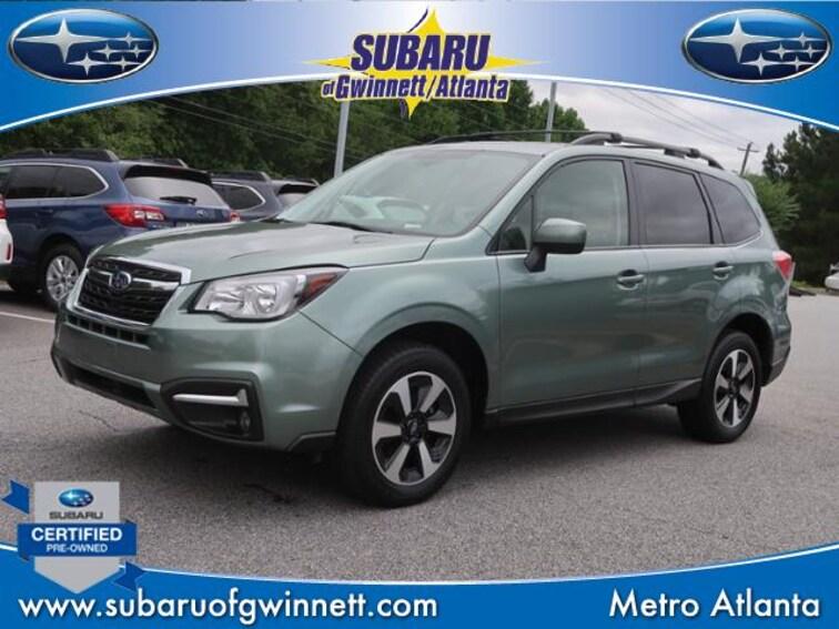 Certified Used 2018 Subaru Forester 2.5i Premium CVT SUV in Atlanta, GA