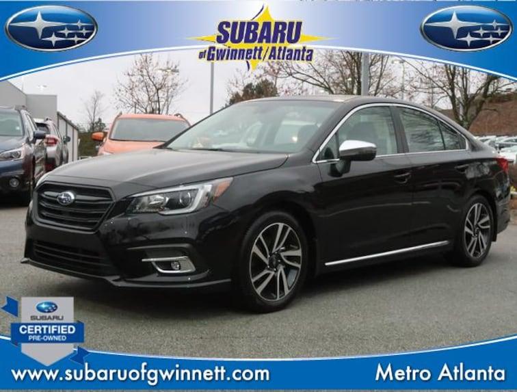 Used 2019 Subaru Legacy Sport W/Navigation/Moonroof/Blindspot Sedan in Atlanta, GA