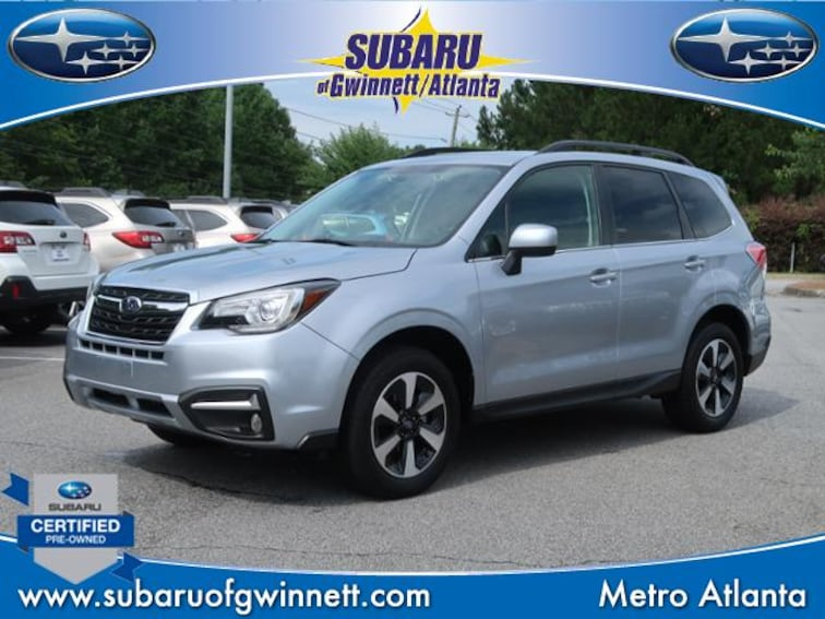 Certified Used 2017 Subaru Forester 2.5i Limited CVT SUV in Atlanta, GA