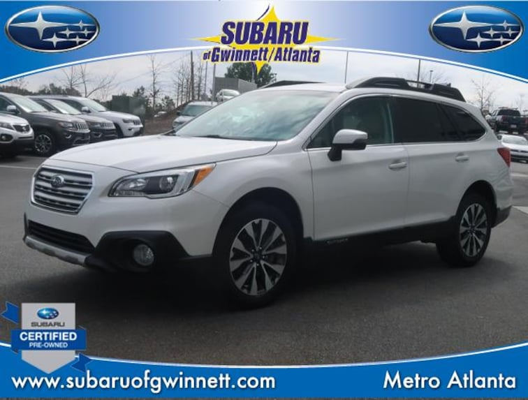 Certified Used 2017 Subaru Outback Limited W/Navigation/Eyesight/RAB SUV in Atlanta, GA