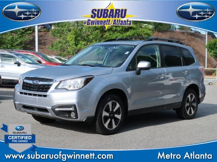 Used 2018 Subaru Forester Premium W/Eyesight/Blindspot/Rcta SUV in Atlanta, GA
