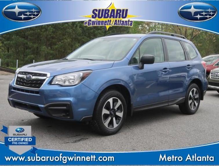 Certified Used 2018 Subaru Forester 2.5I W/Alloy Wheel Package SUV in Atlanta, GA