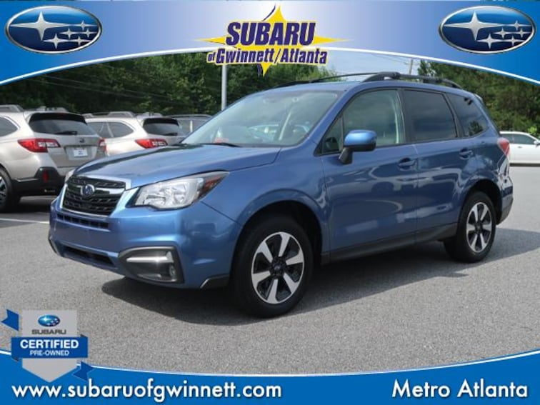 Certified Used 2018 Subaru Forester 2.5i Premium CVT SUV in Atlanta, GA
